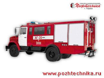 autopompa ZIL  AG-20 Avtomobil gazodymozashchitnoy sluzhby