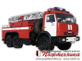 autoscala antincendio KAMAZ ACL-3-40/17