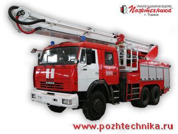 autoscala antincendio KAMAZ ACPK-2,0-40/100-24