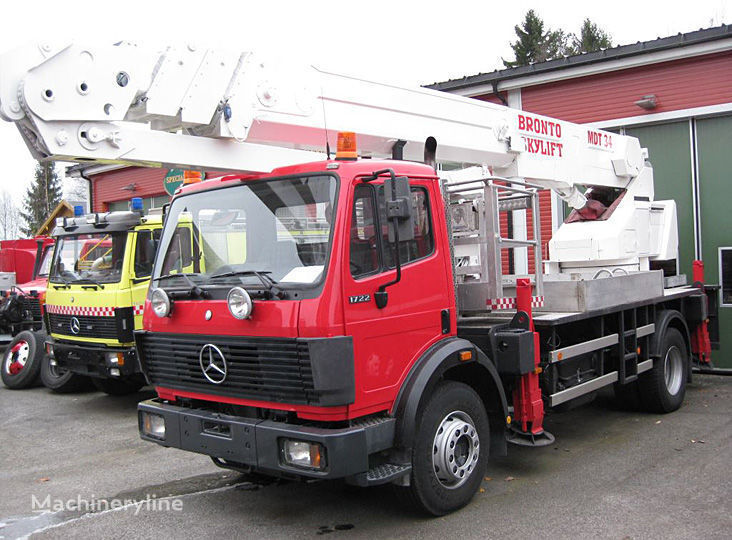autoscala antincendio MERCEDES-BENZ 1722 4X2WD