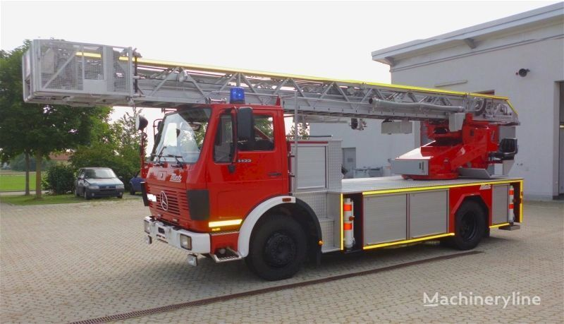 autoscala antincendio MERCEDES-BENZ F20126-Metz DLK 23-12 - Fire truck - Turntable ladder