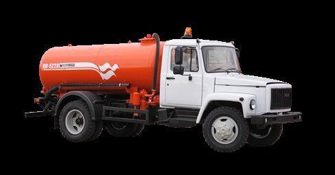 autospurgo GAZ Vakuumnaya mashina KO-522B