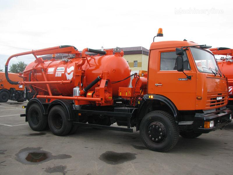 autospurgo KAMAZ Ilososnaya mashina KO-507A-3