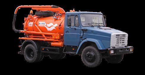 autospurgo ZIL Ilososnaya mashina KO-510D