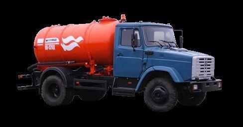 autospurgo ZIL Vakuumnaya mashina KO-520