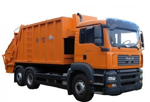 camion dei rifiuti MAN KO-427-46