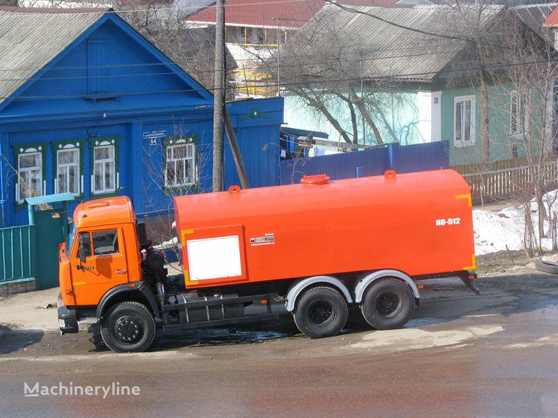 camion spurgo fognature KAMAZ Kanalopromyvochnaya mashina KO-512