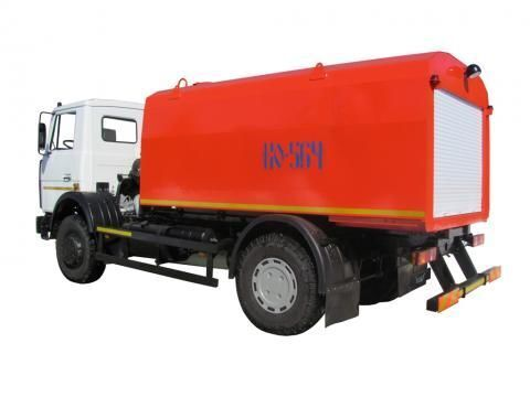 camion spurgo fognature MAZ KO-564-30