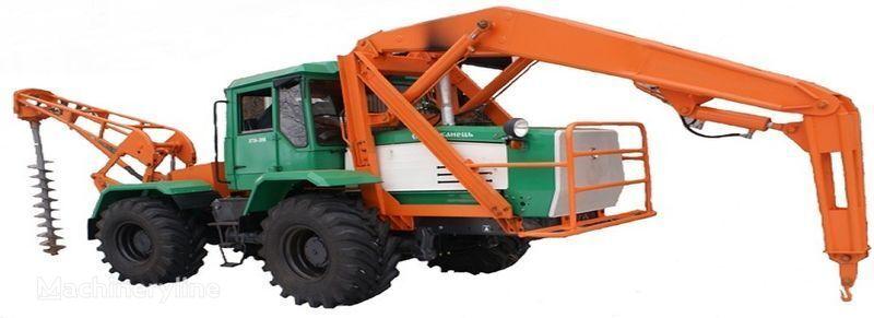 altre macchine edili BKM 2M Burilno-kranovaya mashina BKM-2M s mehanicheskim privodom vrashche