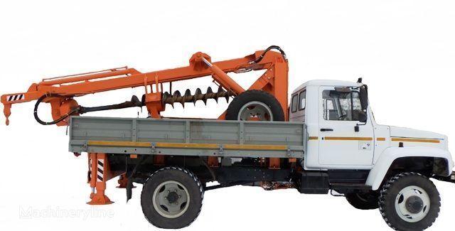 altre macchine edili BKM ZU Burilno-kranovaya mashina BKM-3U na avtomobilyah GAZ 33081 («Sa