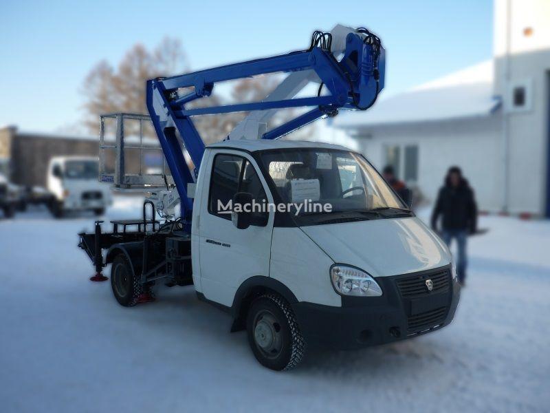 autocarrata GAZ VIPO-12-01 na bazovom shassi  GAZ-3302 Gazel