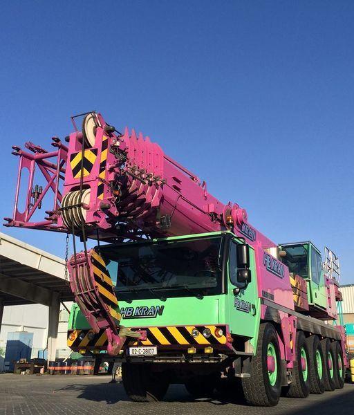 autogrù LIEBHERR 100 Ton Crane LTM 1100 - 5.2  (SOLD)