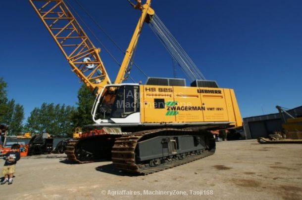 dragline LIEBHERR HS 885 HD