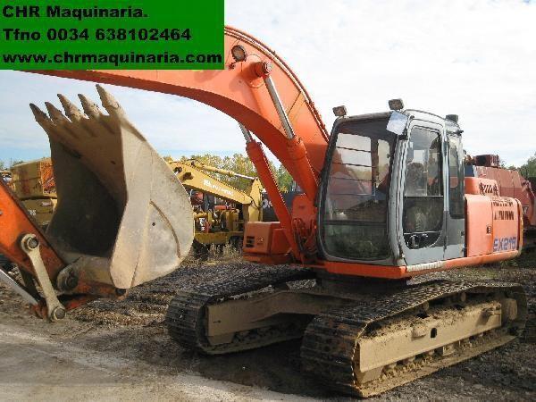 escavatore cingolato FIAT-HITACHI EX255