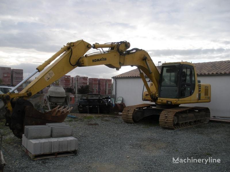 escavatore cingolato KOMATSU PC 160 LC-6K
