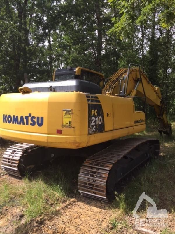 escavatore cingolato KOMATSU PC 210 LC-8K