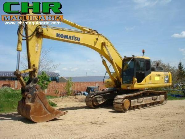 escavatore cingolato KOMATSU PC340-7
