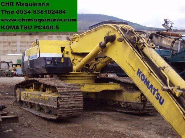 escavatore cingolato KOMATSU PC400-5