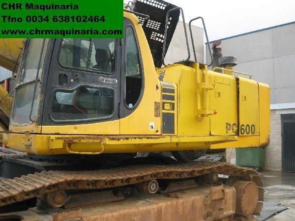 escavatore cingolato KOMATSU PC600-6