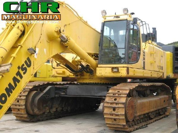 escavatore cingolato KOMATSU PC750-6