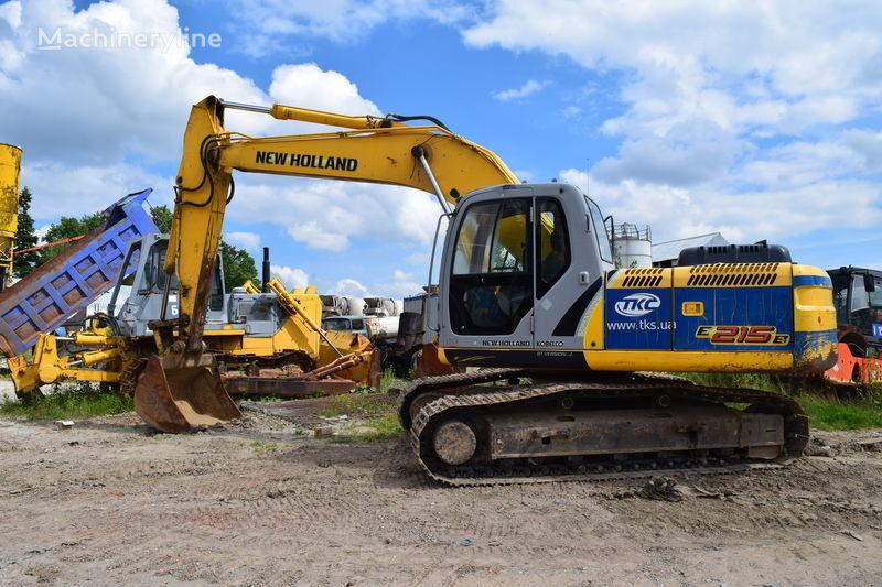 escavatore cingolato NEW HOLLAND E215B