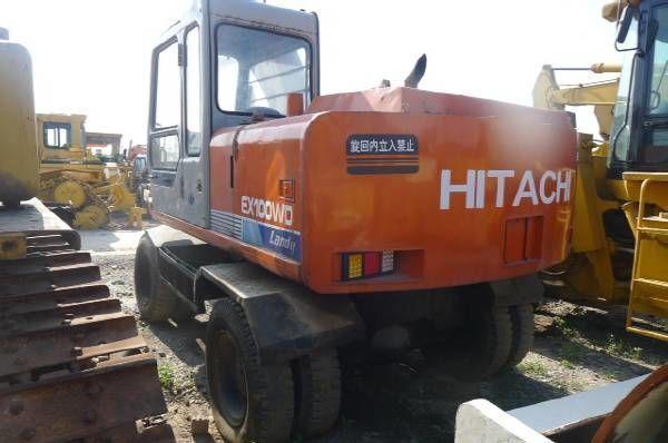 escavatore gommato HITACHI EX100WD