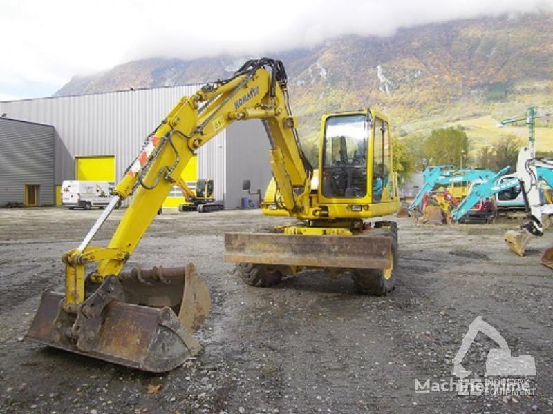 escavatore gommato KOMATSU PW 110 R