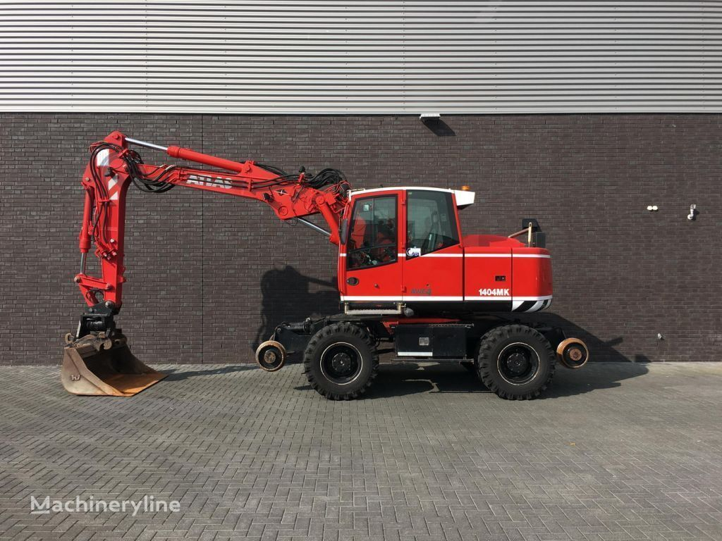 escavatore su rotaie TEREX TW 160 SR RAILWAY EXAVATOR