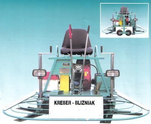 frattazzatrice KREBER K-436-2-T Blizniak nuovo