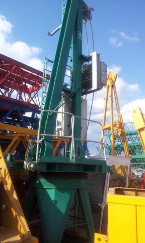 gru a torre POTAIN JASO J 5010 con base, opcion cabina