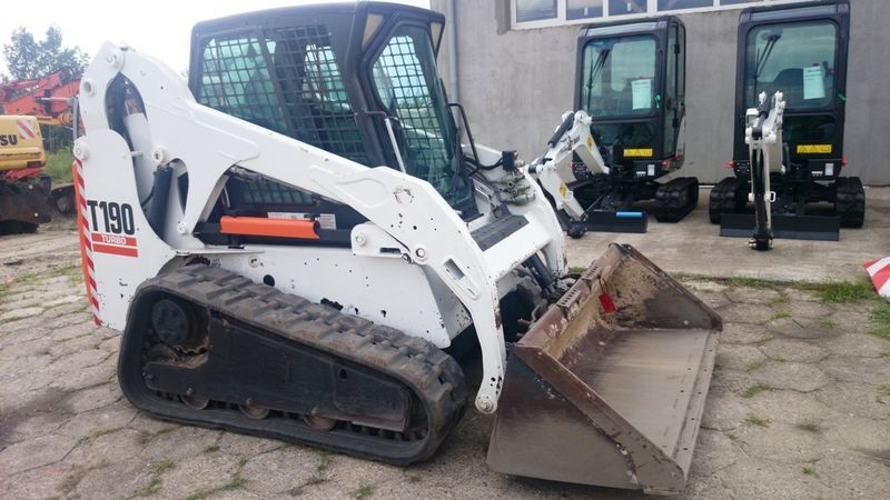 minipala cingolata BOBCAT T190 High Flow