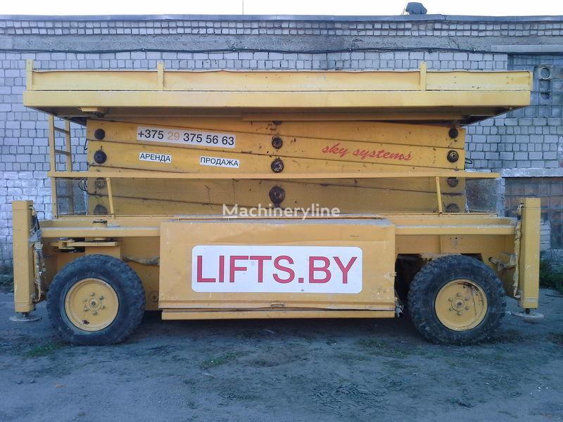 piattaforma elevatrice a forbice LIFTLUX SL-205-25   22.5m  4*4
