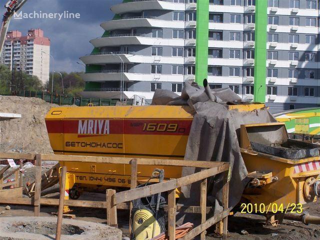 pompa per calcestruzzo carrellata MRIYA Stacionarnyy betononasos