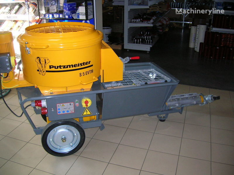 pompa per calcestruzzo carrellata PUTZMEISTER S5 EV/TM nuovo