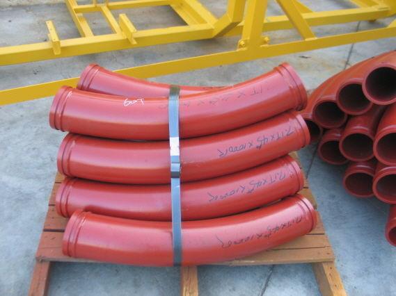 pompa per calcestruzzo Komplektuyushchie k betononasosam - zamki, povoroty, setki, shary nuovo