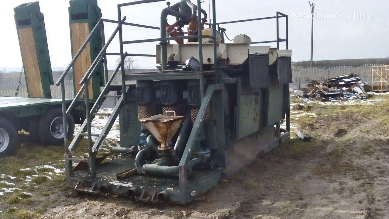 trivellatrice VERMEER  Mud recycling unit Basic Fabrication MCS 260