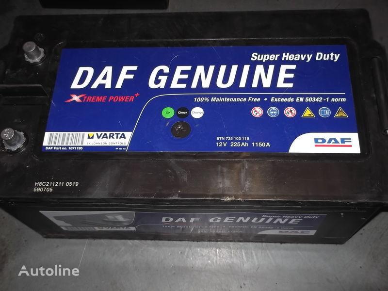 accumulatore  225Ah DAF XF 105  CF 85 per autobus nuovo
