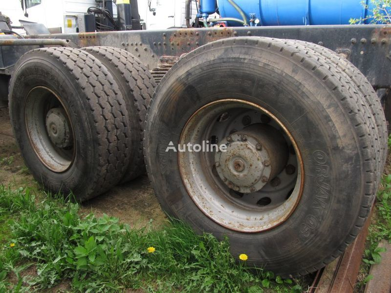 assale  TYLNE MOSTY TANDEM, 2 X REAR DIFFERENTIAL MAN 8X4 8X8 per camion MAN 35-414 F2000 8X4