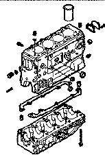 blocco cilindri  IVECO BLOQUE DAILY 8140,43 N per furgone IVECO 35S15 nuovo