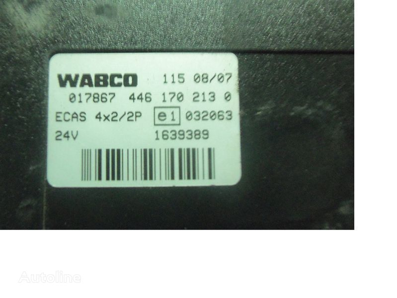 centralina  DAF 105 XF, ECAS electric control unit 1639389; 1657855, 1657854, 1686733, 1732019 per trattore stradale DAF 105XF