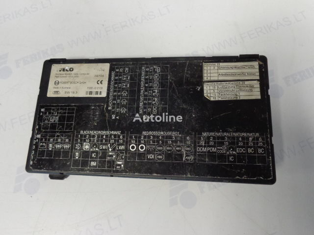 centralina  ROBERT BOSCH Body Computer control unit   41221000 (WORLDWIDE DELIVERY) per trattore stradale IVECO