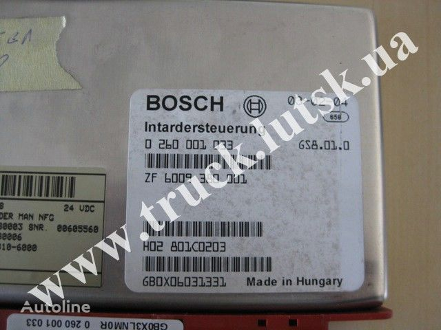 centralina  MAN Bosch per camion MAN TGA