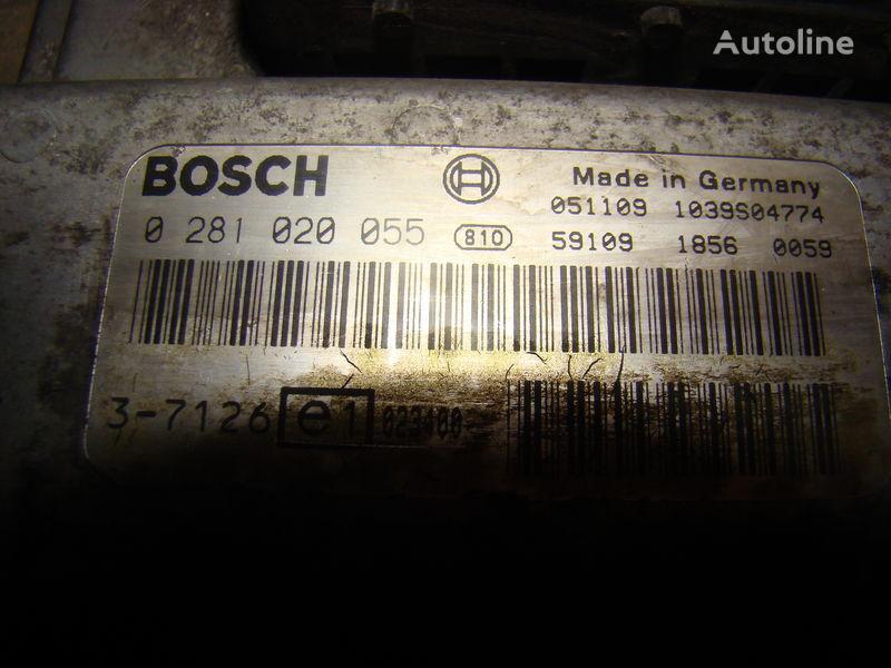 centralina  MAN Common Rail EDC, ECU electronic diesel control 0281020055, D2066LF01, 51258037126, 51258337169, 51258037127, 51258337168 per trattore stradale MAN TGA