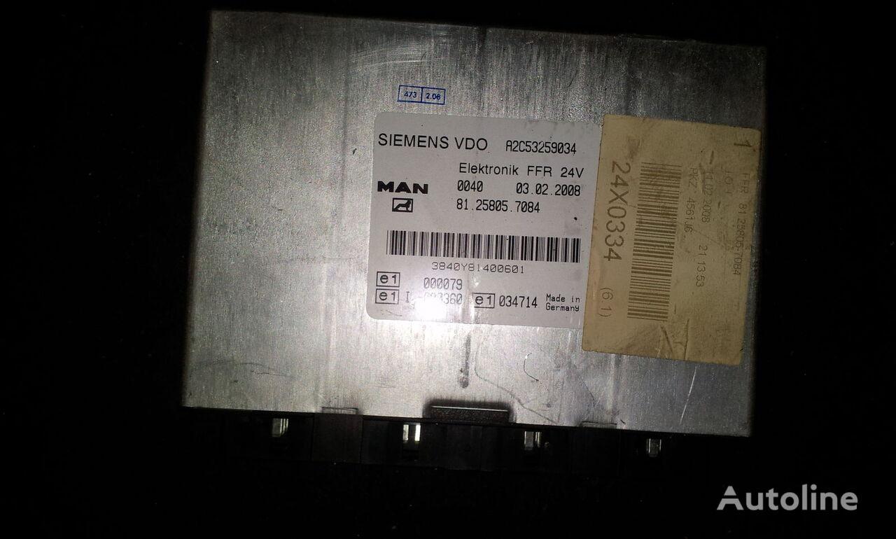 centralina  MAN FFR control unit, ECU, 81258057084, Siemens VDO, 81258057084, 81258057088, 81258057081, 81258057082, 81258057083, 81258057084, 81258057087, 81258057089, 81258057088 per trattore stradale MAN TGX