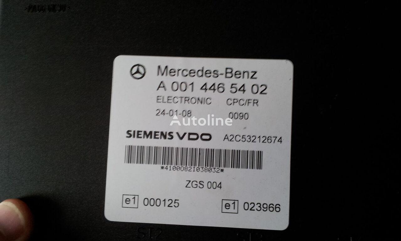 centralina  Mercedes Benz MP2 FR unit ECU 0014464102, 0014464102, 0004467502, 0014461002, 0014467402, 0004467602, 0004469602, 0014461302, 0014461402, 0014462602, 0014467002, 0014461902, 0014464102, 0024460102, 0014465402, 0024460402, 0014465702, 0024463502, 0014465702, 0024463802, per trattore stradale MERCEDES-BENZ Actros