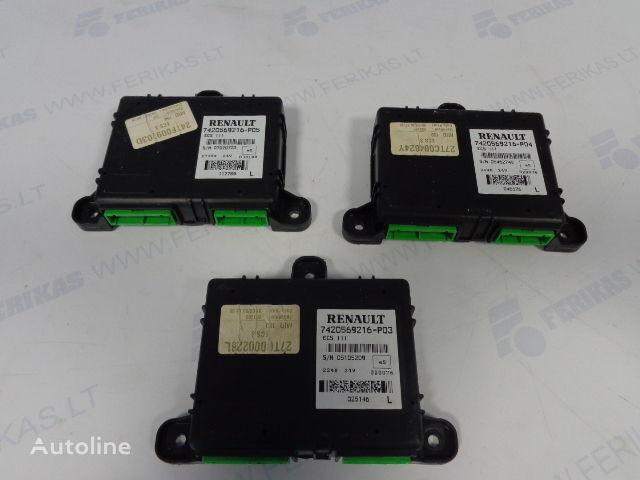 centralina  ECS control units 7420569216, 7420569216, 7420569216