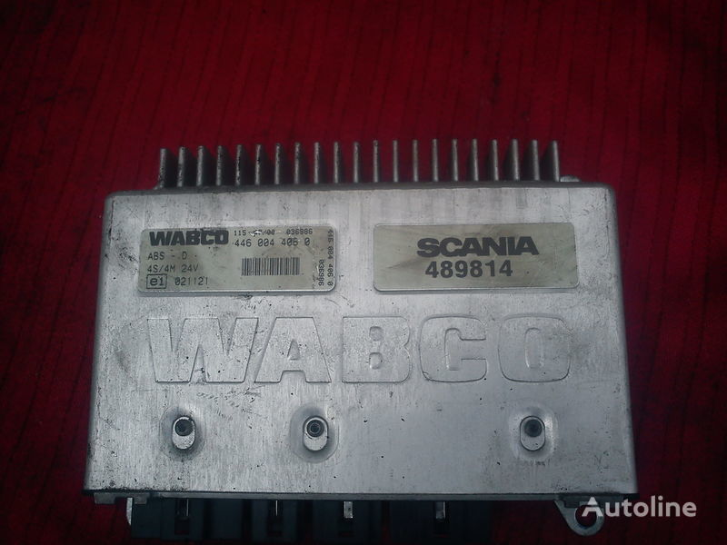 centralina  Wabco C3-4S/M 4460040850 . 4480030790. 4460030510. 4460040540 per camion SCANIA