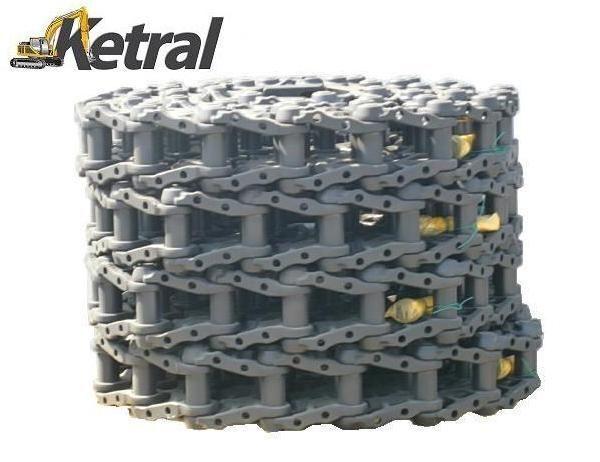 cingoli in gomma  DCF track - chain - ketten - łańcuch per escavatore CATERPILLAR 312