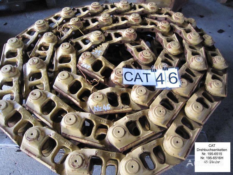 cingoli in gomma  Kette /( Drehbuchsen) und Bodenplatten per bulldozer CATERPILLAR D6