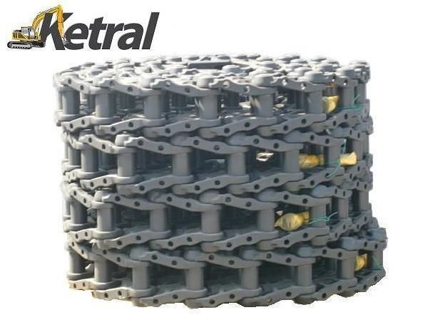 cingoli in gomma  DCF Chain - Ketten - Łańcuch per escavatore KOMATSU PC210-6